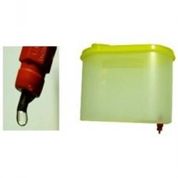 Поилка ниппельная для кур 1,25 литра - фото 4550
