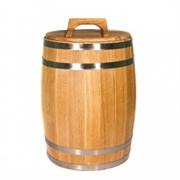 Дубовая бочка для засолки, 25 литров